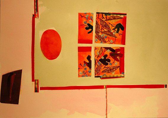 Abstract -  14 x 20, Jon Taner, Mixed Media Artist