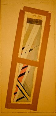 China Wind  -  28 x 16, Jon Taner, Mixed Media Artist
