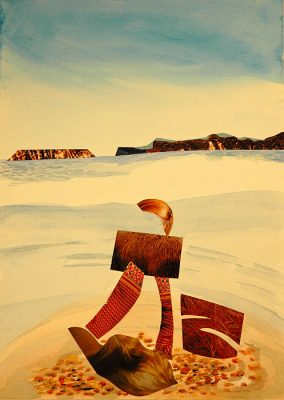David's Cove  -  13.5 x 9, Jon Taner, Mixed Media Artist