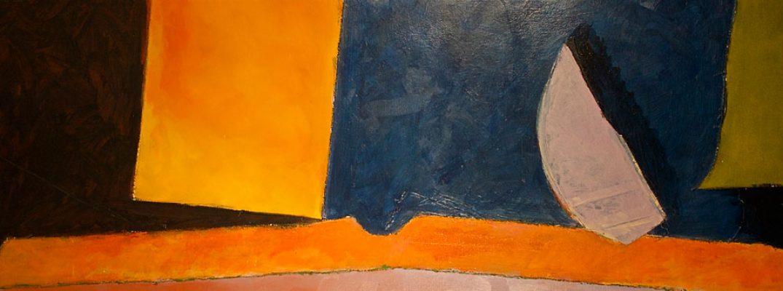 Ignatz  -  65 x 26  (SOLD), Jon Taner, Mixed Media Artist