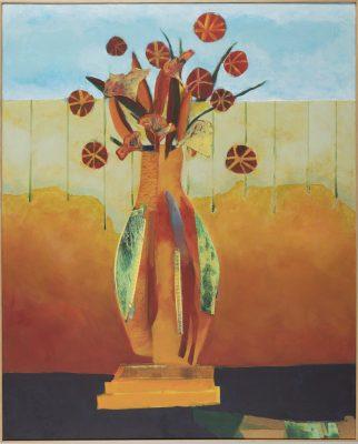 Indian Summer 52x42, Jon Taner, Mixed Media Artist