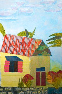 Mobiliere Chambre (Honeymoon)  -  20 x 30  (SOLD), Jon Taner, Mixed Media Artist