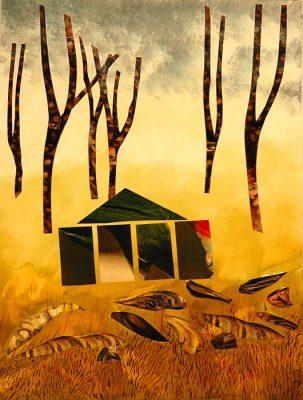 Where Tales Begin  -  15.5 x 11 (SOLD), Jon Taner, Mixed Media Artist